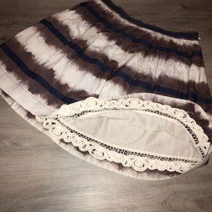 Anthropologie Edna & Esyllte cotton full skirt